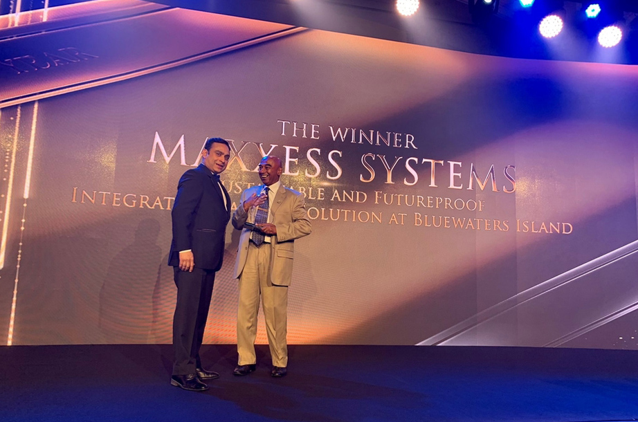 Maxxess Systems wins System Integrator of the Year at Intersec 2019