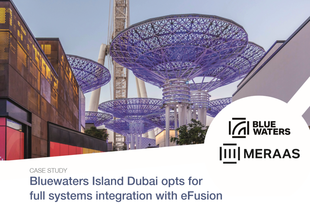 Bluewaters Island Dubai Chooses Integration with Maxxess eFusion Security Management Software