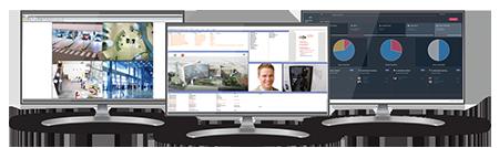Software de gestión de seguridad Maxxess eFusion MX+