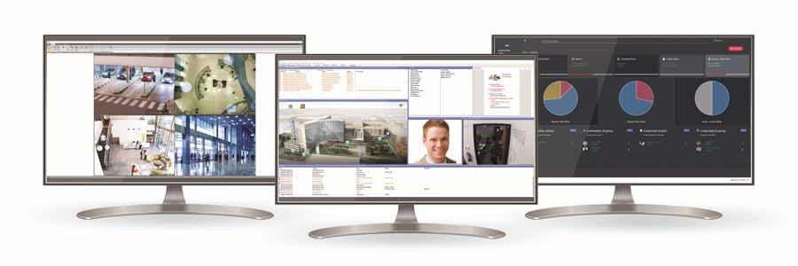 Maxxess eFusion security management software on display at ISC-West 2019
